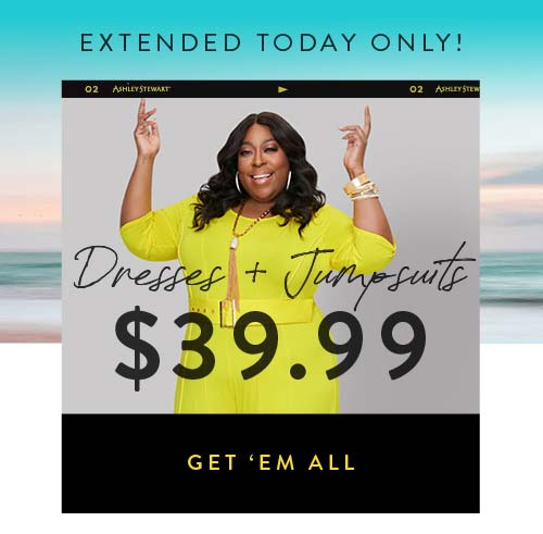 Extended! $34.99 Dresses. Shop Now