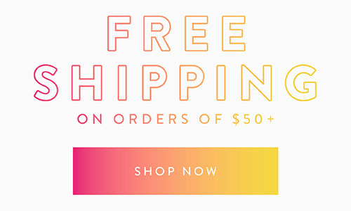 Online Only! Shop 40% Off New Arrivals plus Free Shipping on orders of $50+